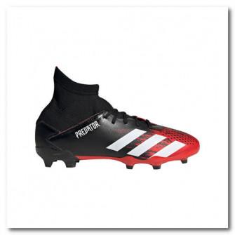 Ghete Fotbal Predator 20.3 FG Negru Copii