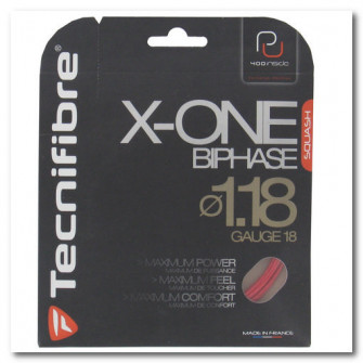 Cordaj Squash X-one Biphase 1.18 2019 Rosu