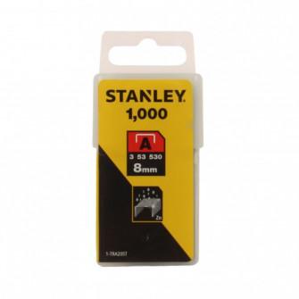 Capse tip A, Stanley, 8 mm, set 1000 bucati