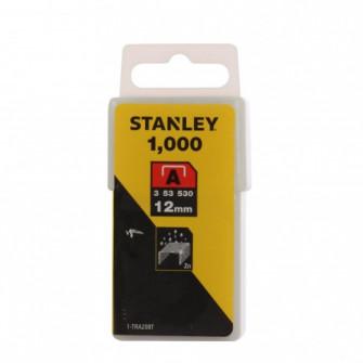 Capse tip A, Stanley, 12 mm, set 1000 bucati