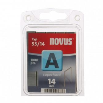 Cleme subtiri, Novus A 53, 14 mm, set 1000 bucati