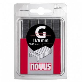 Cleme plate, Novus G 11, 10 mm, set 600 bucati