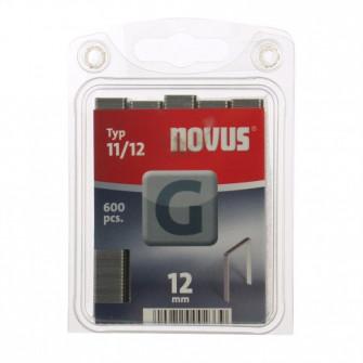 Cleme plate, Novus G 11, 12 mm, set 600 bucati