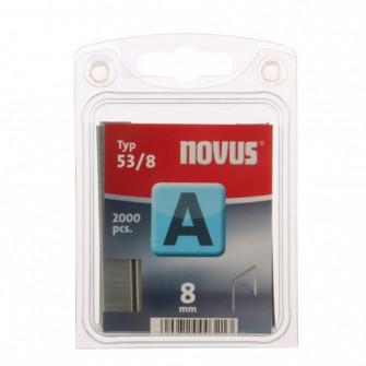 Cleme subtiri, Novus A 53, 8 mm, set 2000 bucati