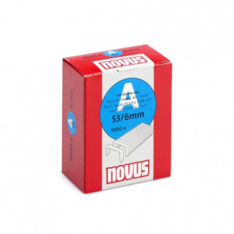 Cleme subtiri, Novus A 53, 6 mm, set 5000 bucati
