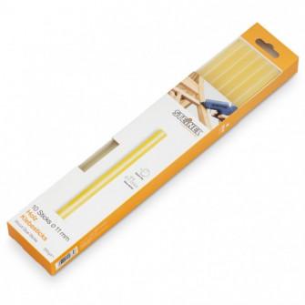 Bagheta adeziv galben transparent, pentru lipire lemn,