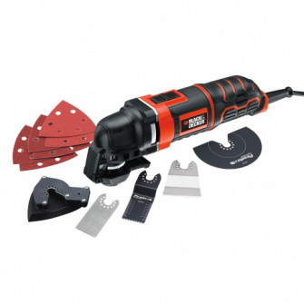 Unealta multifunctionala oscilanta, Black&Decker MT300K