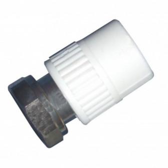 Racord semiolandez PPR, FI, 20 mm x 1/2