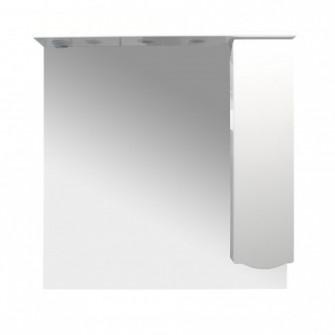 Dulap baie cu oglinda si iluminare, 1 usa, dreapta, Art