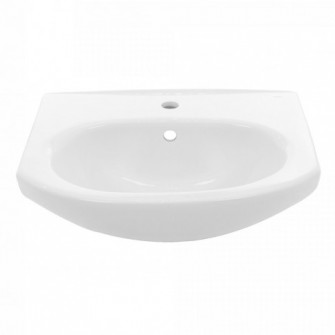 Lavoar Fayans Neo, alb, rotunjit, 55 cm