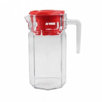 Carafa 43414 cu capac, sticla, 1.25 litri