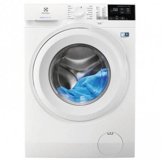 Masina de spalat rufe Electrolux PerfectCare 600 EW6F428WU, 8 kg, 1200 rpm, clasa A+++, adancime 57.6 cm, sistem SensiCare, Eco TimeManager, alb