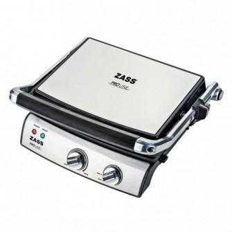 Gratar electric Zass ZPG 02, 2000 W, placi tip grill an