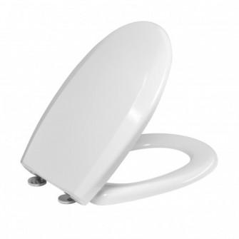Capac WC din duroplast, Kadda Uniset D3, alb, inchidere