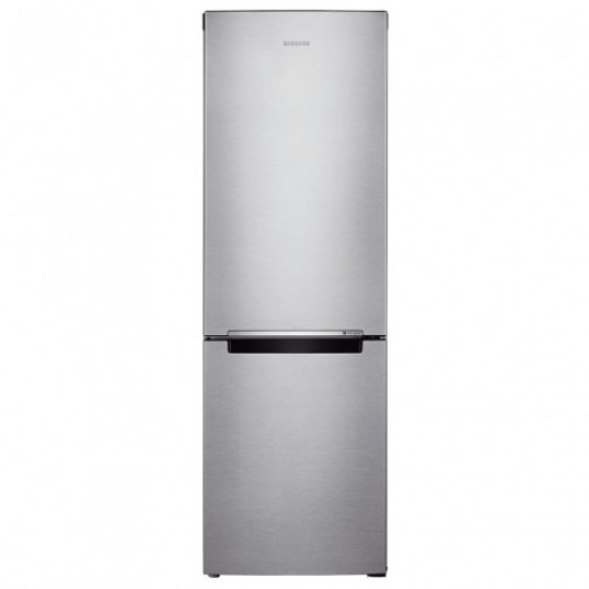 Combina frigorifica Samsung RB33J3030SA/EF, 328 l, No Frost, clasa A+, inaltime 185 cm, sistem de racire All-around Cooling, compresor Digital Inverter, argintie