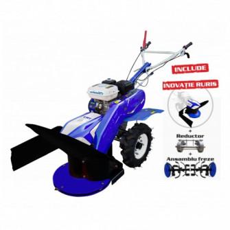 Motocultor pe benzina Gigant 6049, 7 CP, 3 viteze + sis