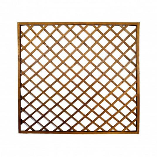 Gard Lemn Pentru Gradina 180 X 180 Cm