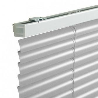 Jaluzele orizontale din aluminiu, 80 x 160 cm, argintiu