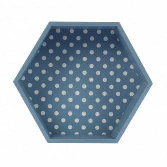 Tava hexagonala pentru servire, din MDF, JXP1912A, 30.5