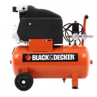 Compresor aer cu piston, cu ulei, Black&Decker CP2525N,
