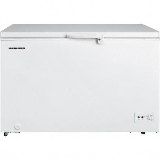 Lada frigorifica Heinner HCF-M362CA+, 359 l, Clasa A+, Sistem Convertibil Frigider/Congelator, Control mecanic, Winter Protection, Alb