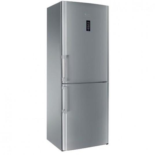Combina frigorifica Hotpoint ENBYH 19323 FW O3, 449 l, Clasa A++, Full No Frost, H 195 cm, Inox