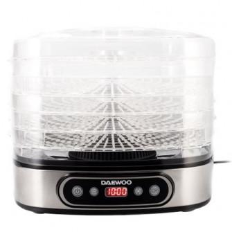 Deshidrator de alimente Daewoo DD500S, 500 W, 5 tavi, D