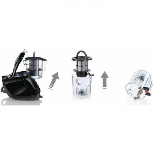 Aspirator fara sac Bosch BGS5SIL66B, 3 L, 700 W
