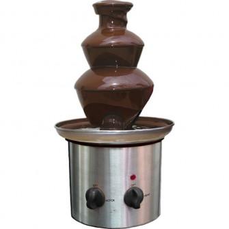 Mini fantana de ciocolata cu 3 nivele Fondue, 65W