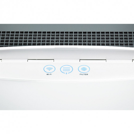 Purificator Blueair Classic 605 Smart Wi-Fi, Filtru SmokeStop (filtru particule + carbon), filtrare 99.97% a aerului, recomandat pana la 72 m2, Alb