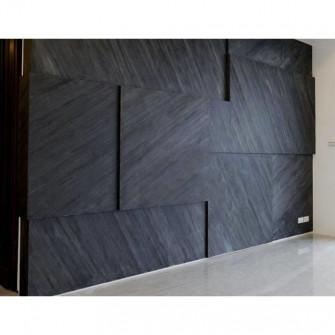 Ardezie Flexibila StoneFlex LUX OCEAN BLACK 122 x 61 cm