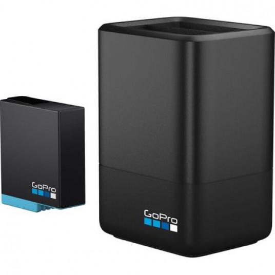 Incarcator si Acumulator GoPro Dual Battery Charger pentru Hero5/6/7/8 Black