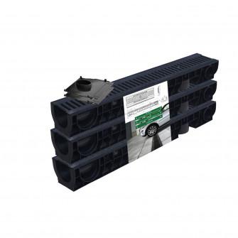 Kit garaj PP BASIC gratar FONTA (3 Rigole Hext.120 Grat