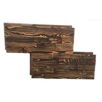 Placa decorativa din lemn masiv ,maro antichizat, LEMN