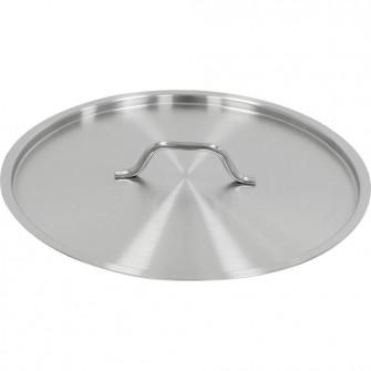 Capac inox magnetic pentru oale si cratite, diametru 36