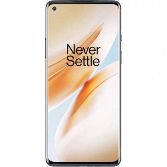 Telefon mobil OnePlus 8, Dual SIM, 128GB, 8GB RAM, 5G, Onyx Black