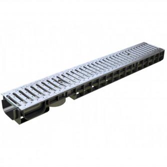 Kit rigola PP BASIC LN100 Hext.80 gratar OZ A15 1000x14