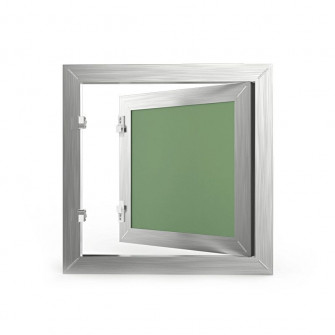 Trapa de vizitare gips-carton aluminiu, 20 x 20 cm