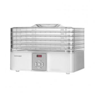 Deshidrator de alimente Concept SO1001, 240 W, 5 tavi,