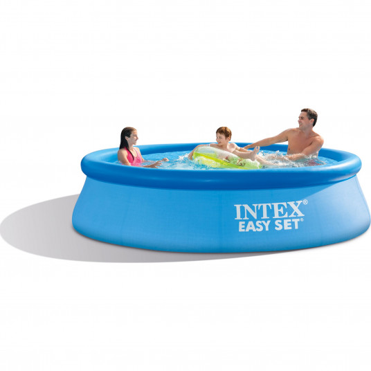 Piscina gonflabila Intex Easy Set®, 3.66m x 76cm Pompa inclusa 220V / 2000Litri