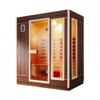 Sauna cu infrarosu WS-160FA, 1600 x 1050 x 1900 mm, cap
