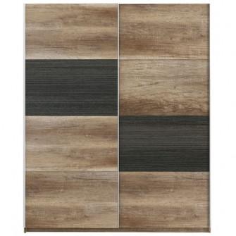 Dulap Kring Tetris, culoare stejar Antic/touchwood,170x