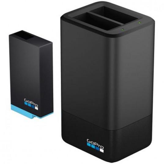 Incarcator si Acumulator GoPro Dual Battery Charger pentru MAX