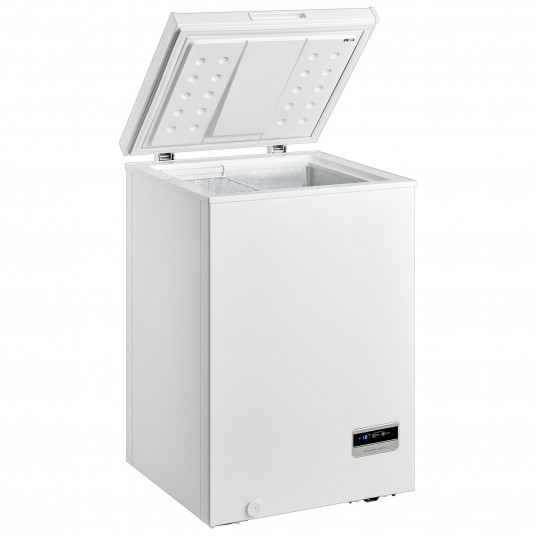 Lada frigorifica MIDEA HS-129CEN, 99l, Control Digital, Functie frigider, Display, Clasa A+, Alb