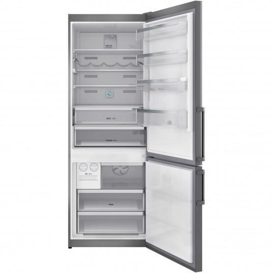 Combina frigorifica Teka RBF 78720 SS, 461 l, Clasa A++, LongLife No Frost, Display, IONCLEAN, H 192 cm, Inox
