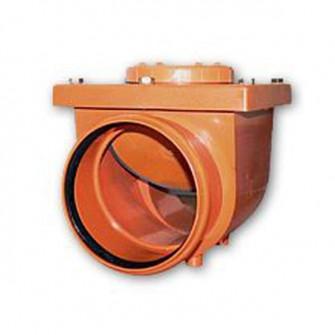 Clapeta antiretur D50 cu inchizator Meok