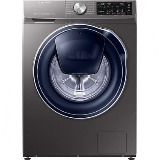 Masina de spalat rufe Samsung WW70M644OPX/LE, Tehnologie Quick Drive, AddWash, Eco Bubble, Motor Digital Inverter, Smart Control, 7 kg, 1400 rpm, Clasa A+++, Inox