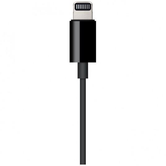 Adaptor Apple Lightning la Jack 3.5mm, Black