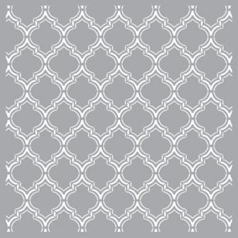 Sablon Decorativ pentru pereti, STENCILIT, Sablon Maroc
