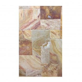 Travertin Peach Blend French Pattern Periat-set 0.73mp